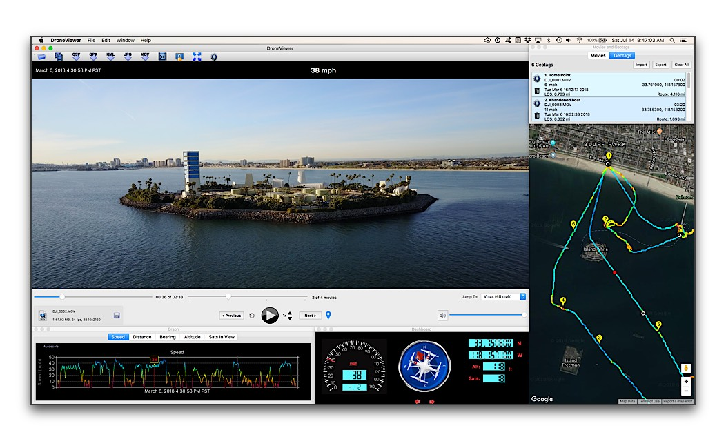 DroneViewer released for Mac and Windows | DJI Mavic Drone Forum