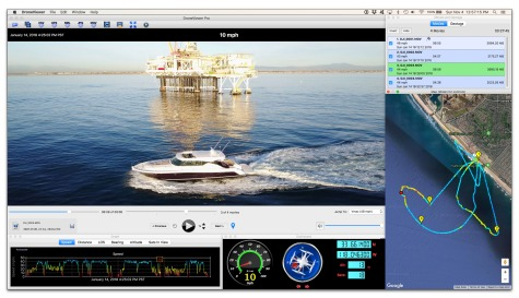 New software to view video and flight data simultaneously